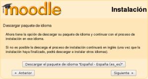 Instalación de Moodle - Paso 6
