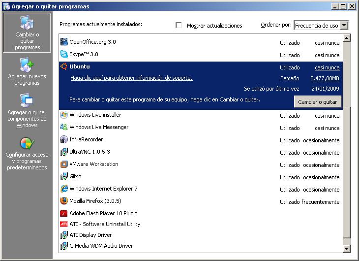 instalar windows desde linux: