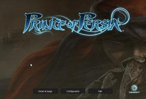 Inicio de Prince of Persia