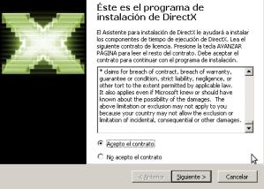 Licencia de DirectX9.0c