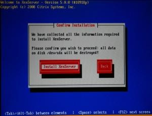 Instalamos Citrix XenServer