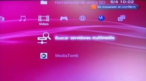 Buscando servidores multimedia en la PS3