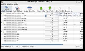 Gran cantidad de archivos pendientes de descarga
