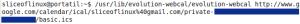 Ejecutamos el comando para integrar el calendario de Google en el de GNOME