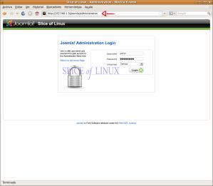 Control de acceso a la zona de administración de Joomla!