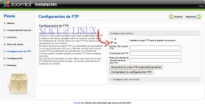 No activamos el FTP