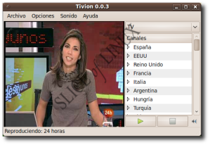 Tivion 0.0.3 en Ubuntu 9.10