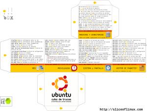 Ubuntu Cheat Cube en español, Comandos Basicos.