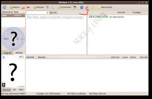 Interfaz de Wiithon