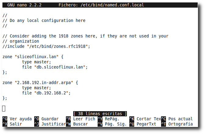 Instalar un DNS con Bind 9 paso a paso