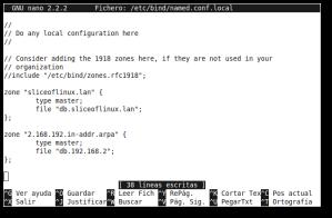 Editamos el archivo /etc/bind/named.conf.local