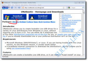 Descargamos UNetbootin para Windows