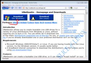 Descargamos UNetbootin para Windows