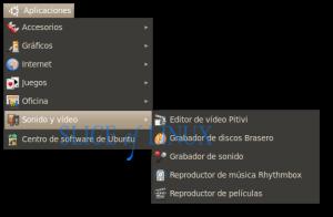 Pitivi: editor de vídeo por defecto
