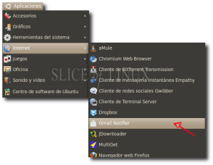 Ejecutamos Gmail Notifier