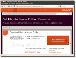 Descargamos Ubuntu 10.04 LTS Server
