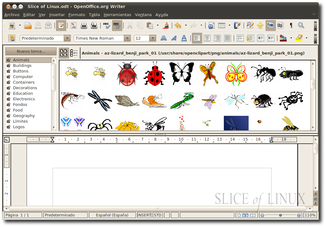 Install Word 2010 Clipart