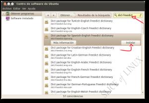 Instalamos el diccionario Español-Inglés