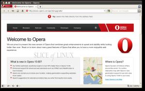 Opera 10.60 en Ubuntu 10.04