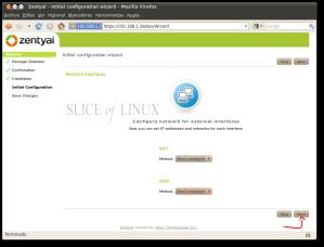 Configuramos las interfaces de red