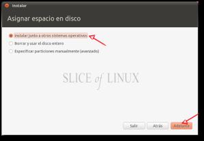 Instalar junto a otros sistemas operativos
