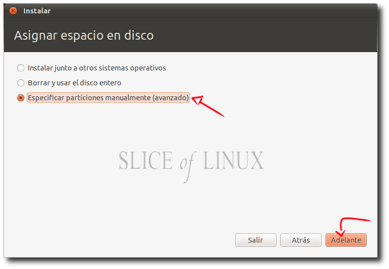 Instalar Ubuntu 10.10 Especificando Particiones Manualmente!