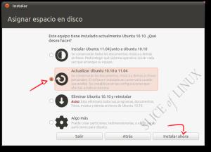 Actualizar de Ubuntu 10.10 a Ubuntu 11.04