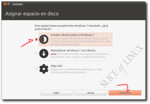 Instalar Ubuntu junto a Windows 7